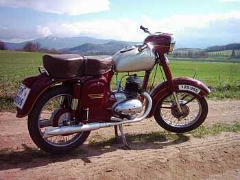 Jawa-Čz 125, typ 355