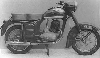 Jawa-Čz 250, typ 353 (1953 - 1955)