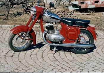 Jawa-Čz 250, typ 353/04 (1957 - 1962)