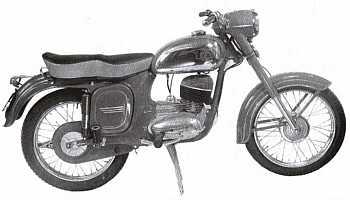 Čz 250, typ 475 Sport