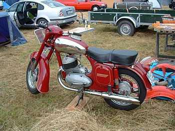 Jawa-Čz 350, typ 354 354/03 (1955 - 1957)