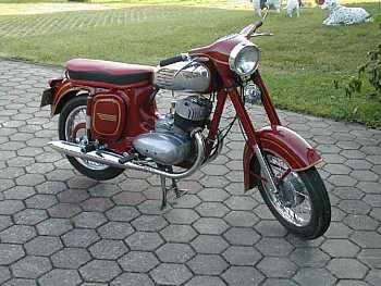 Jawa-Čz 350, typ 360